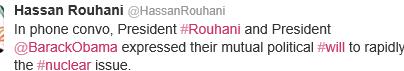 Tweet Tweet: Iranian Leader Talks to US