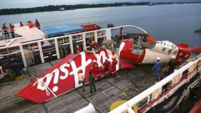 AirAsia Flight Tail Discovery