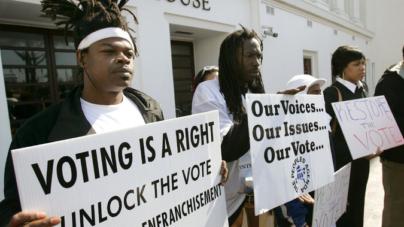 Virginia Grants Convicts Suffrage