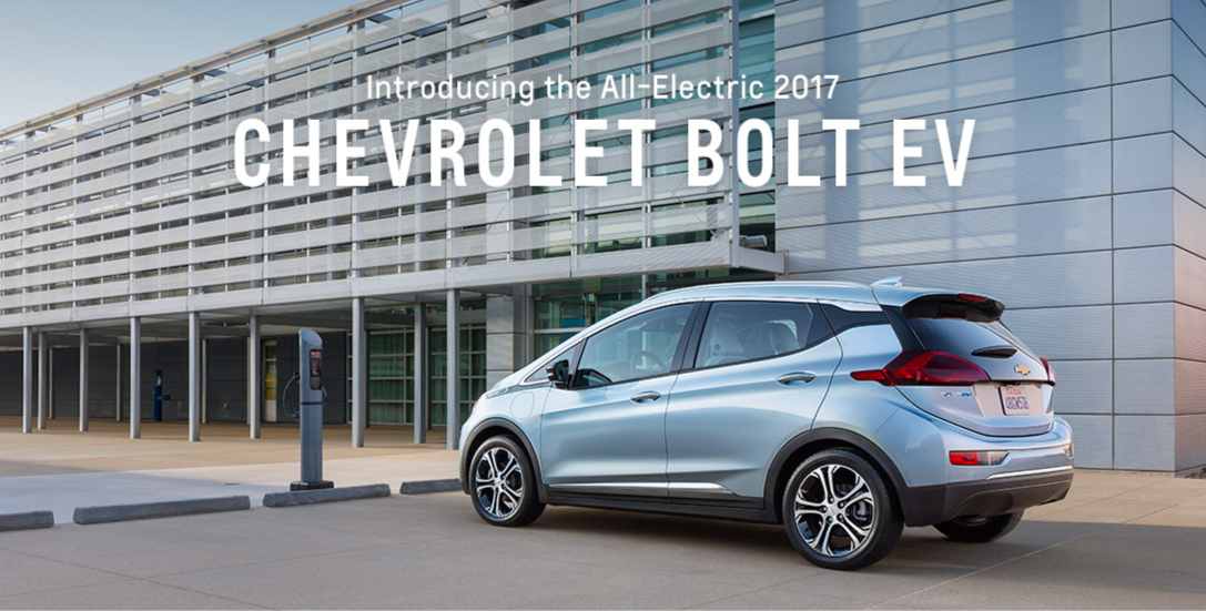 Chevrolet Infiltrates Electric Car Market with New Chevy Bolt