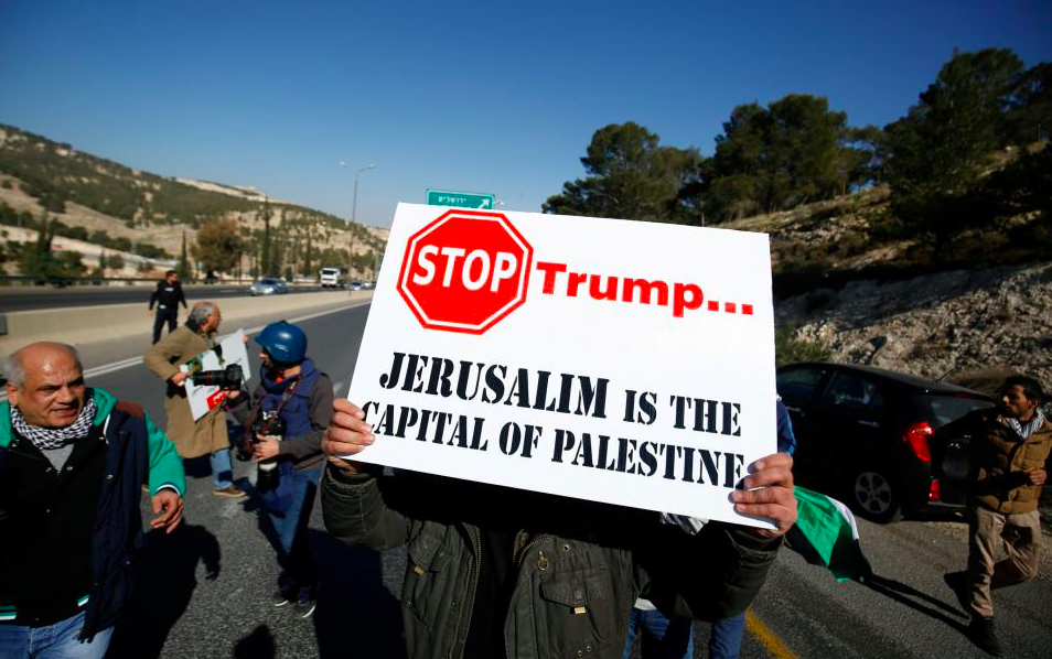Trump Moves U.S. Embassy to Jerusalem