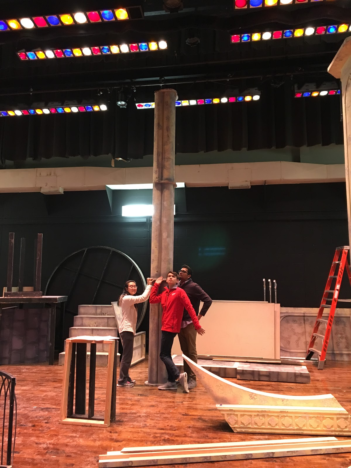East's Production of Beauty and the Beast: BTS!