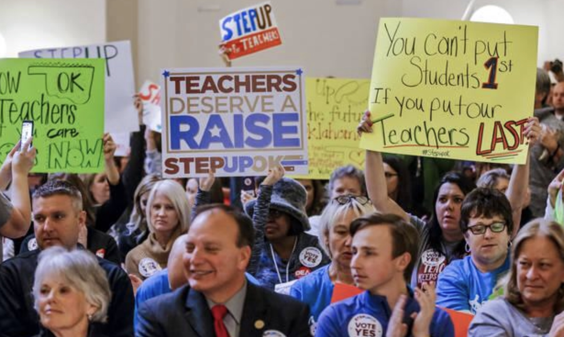 Teacher Protests Sweep the Nation
