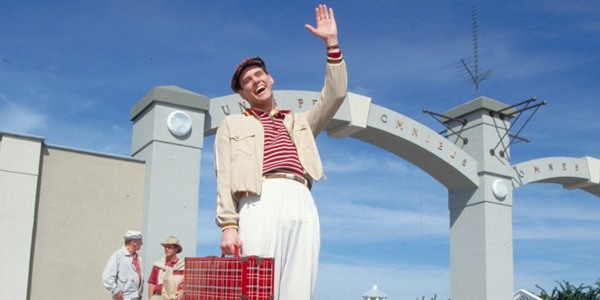Jim Carrey Carries The Truman Show