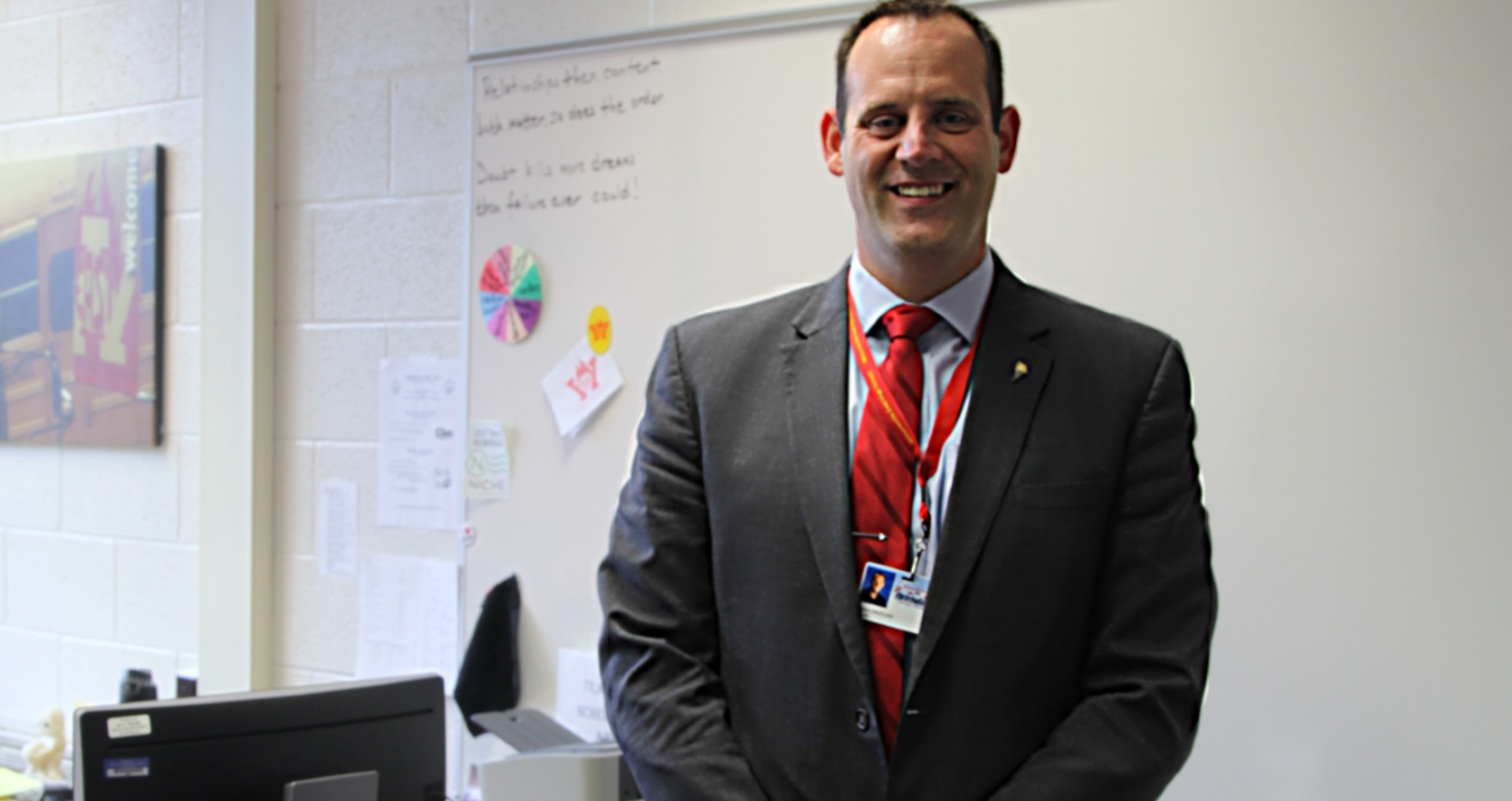 Welcoming Principal Brian Swatland to Williamsville East High School!