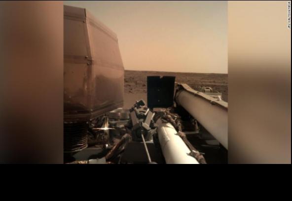 NASA Probe Lands