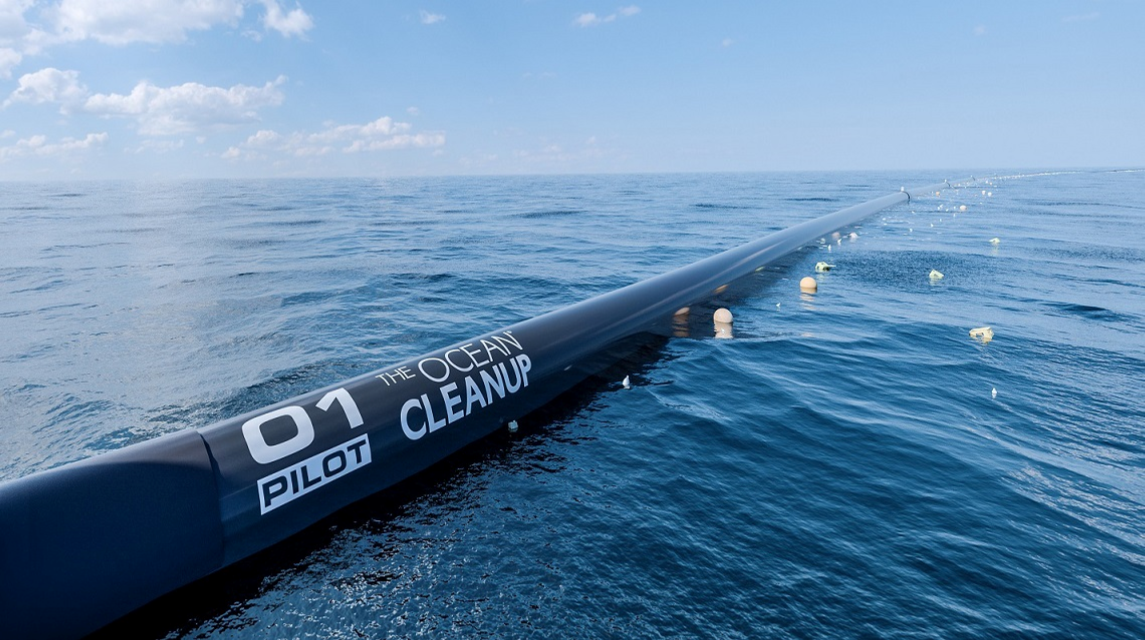 Boyan Slat's Plastic Clearing System  May Help Plastic Buildup in the Pacific