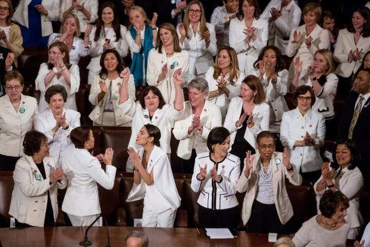 Congresswomen in White
