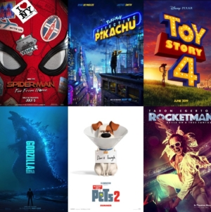Top 10 Summer Movies: 2019 Edition!